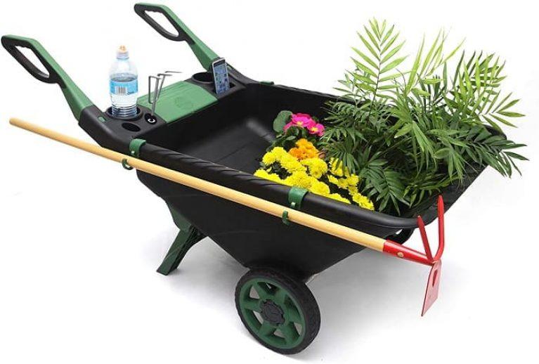 Carretilla de Plástico para jardines