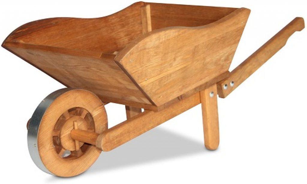 carretilla de maderas