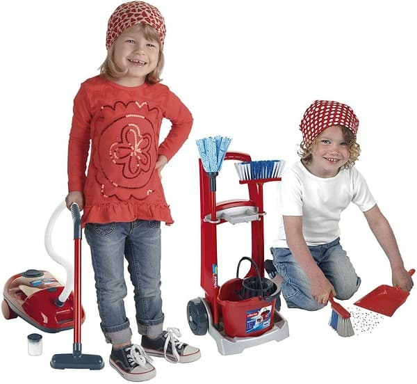 carros de jueguetes de limpieza para niños