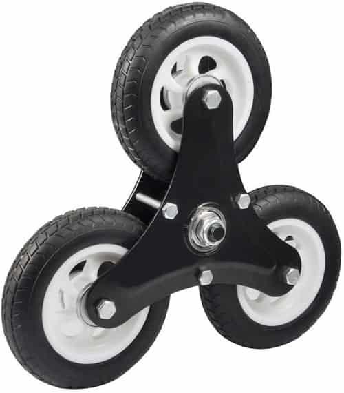 ruedas de carretilla para escaleras