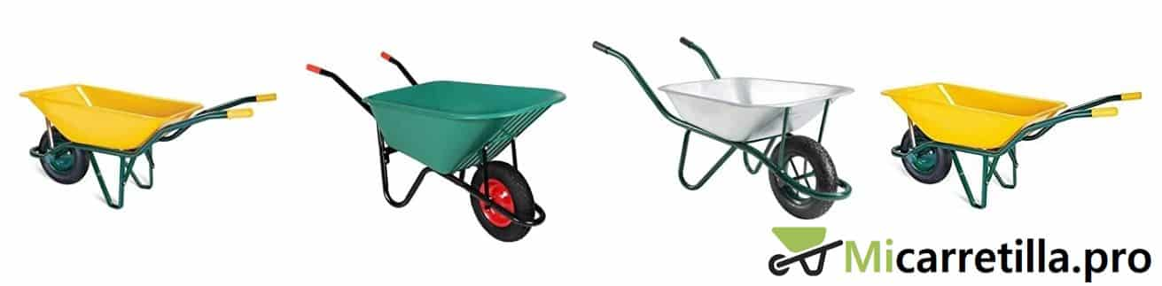 carretillas de una rueda para obras