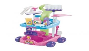 Carro de limpieza infantil